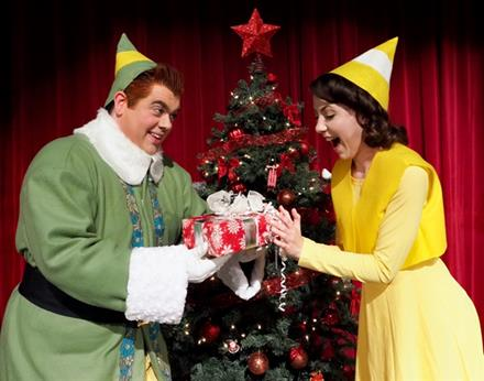 The Community Theatre Debut of Elf the Musical opens December 1st!