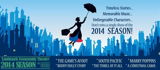 Landmark presents the 2014 SEASON