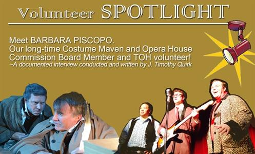 Volunteer Spotlight - BARBARA PISCOPO