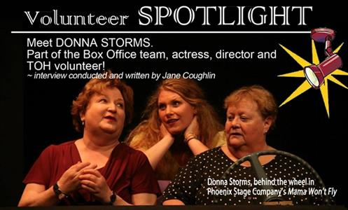 Donna Storms - Volunteer Spotlight
