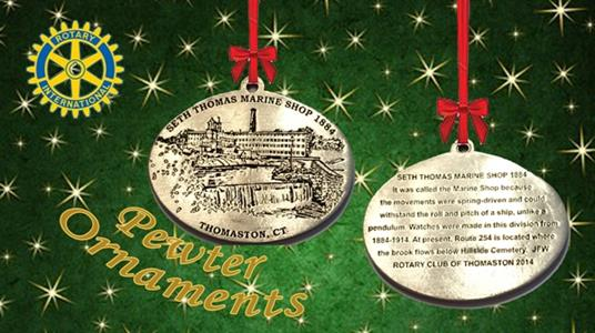 Rotary Christmas Ornament
