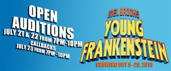 Young Frankenstein - OPEN AUDITIONS