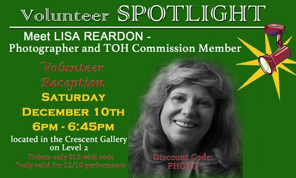 Volunteer Spotlight Lisa Reardon