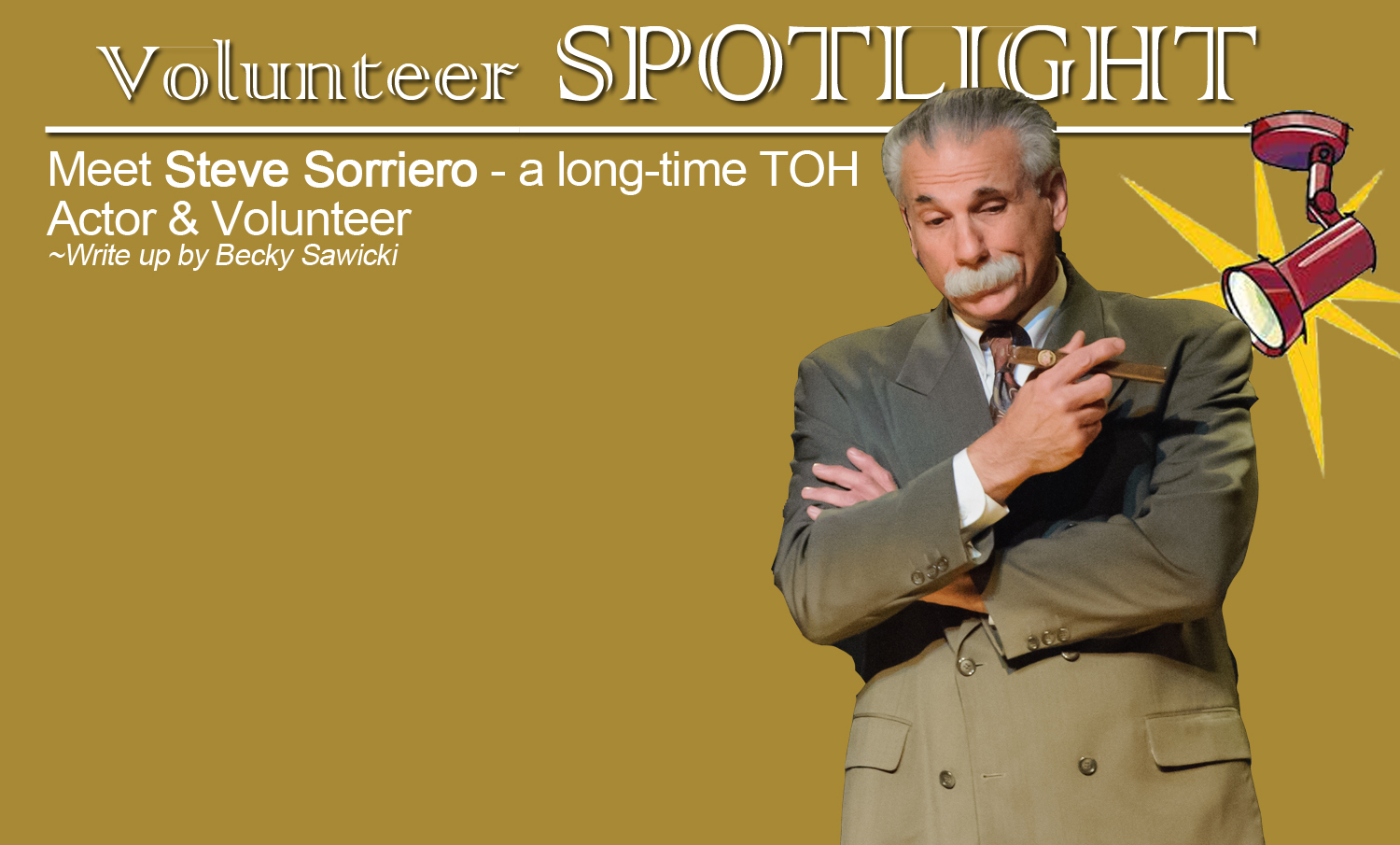 Volunteer Spotlight- Steve Sorriero