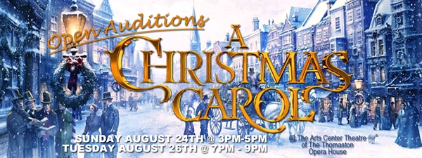 OPEN AUDITIONS - A Christmas Carol